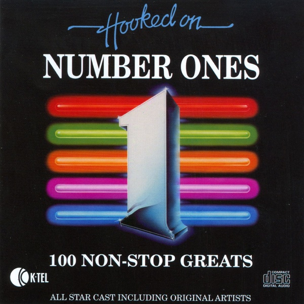 Hooked On Number Ones - 100 Non-Stop Greats Various Artists CD cover