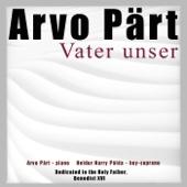 Pärt: Vater unser - Single cover art