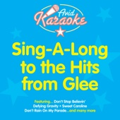 Sing A Long To The Hits From Glee (Professional Backing Track Version)