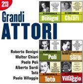 I grandi attori: Benigni - Chiari - Poli - Sordi - Totò - Villaggio