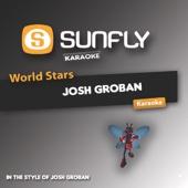 World Stars Karaoke - Josh Groban