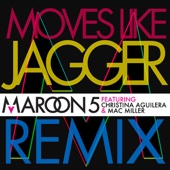 Maroon 5 - Moves Like Jagger (Remix) [feat. Christina Aguilera & Mac Miller] ilustración