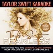 Taylor Swift Karaoke: Fearless (Instrumentals With Background Vocals) cover art
