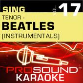 Sing Tenor - Beatles,  Vol.17 (Karaoke Performance Tracks)