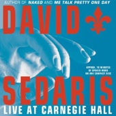 David Sedaris - David Sedaris Live at Carnegie Hall  artwork