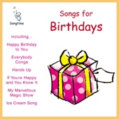 Kidzone - Songs for Birthdays artwork