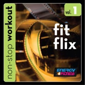 Fit Flix Workout Music 1 (136-148BPM Music for Moderate-Fast Paced Walking, Jogging, Cardio) [Non-Stop Mix]