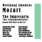 The Impresario Der Schauspieldirektor Comedy With Music in One Act
