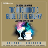 Douglas Adams - The Hitchhiker's Guide to the Galaxy: The Secondary Phase (Dramatised) (Unabridged)  artwork