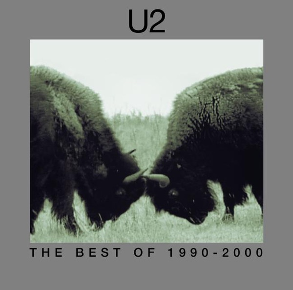 The Best of 1990-2000 U2 CD cover