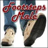 Footsteps, Wood, Rug - Male Leather Sole: Walk Carpet & Rug Footsteps, Wood Footsteps, Male Footsteps