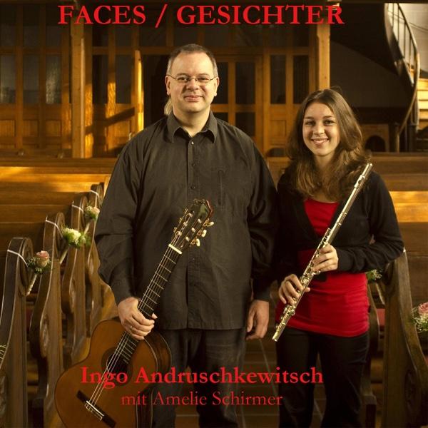 Faces  Gesichter Johann Sebastian Bach CD cover