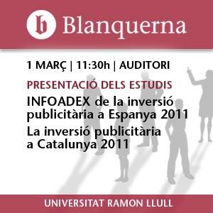Presentació dels estudis INFOADEX