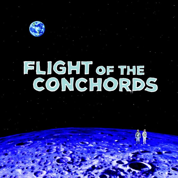 The Distant Future - EP Flight of the Conchords CD cover
