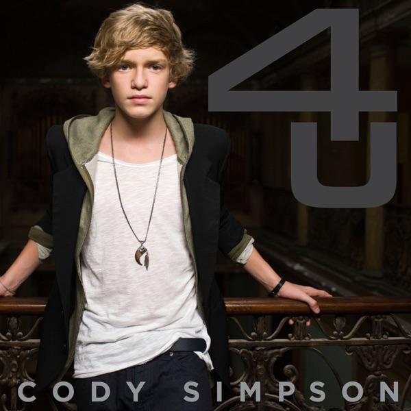 4 U - Ep Cody Simpson CD cover