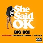 She Said OK (feat. Theophilus London & Tre Luce) - Single cover art