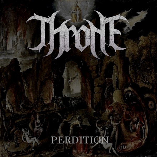 Perdition Throne CD cover
