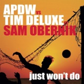 Just Won't Do (Analog People In a Digital World vs. Tim Deluxe) [Remixes] {feat. Sam Obernik}