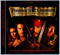 Picture of Pirates of the Caribbean: The Curse of the Black Pearl (Original Soundtrack) by Klaus Badelt