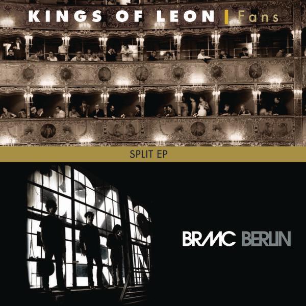 Split Kings of Leon  Black Rebel Motorcyle Club - EP Kings of Leon  Black Rebel Motorcycle Club CD cover