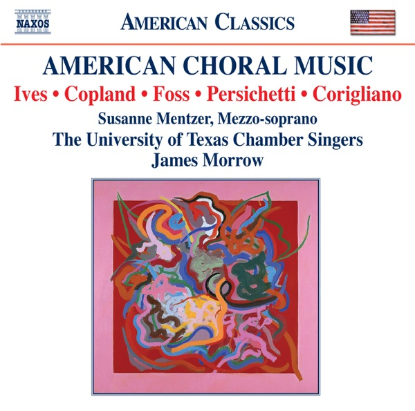 American Choral Music Graeme Francis Jeff Otto Seung Won Cho Stephen Martin Susanne Mentzer Thad Anderson University of Texas Chamber Singers  University of Texas Orchestra CD cover