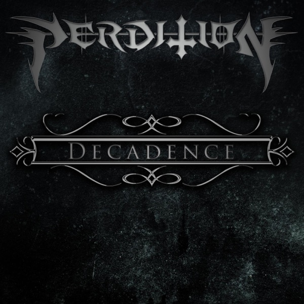 Decadence - EP Perdition CD cover