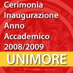 Cerimonia di inaugurazione dell'Anno Accademico 2008-2009 [Video]