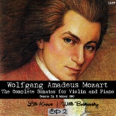 Wolfgang Amadeus Mozart - The Complete Sonatas for Violin and Piano, CD 2 (1957)