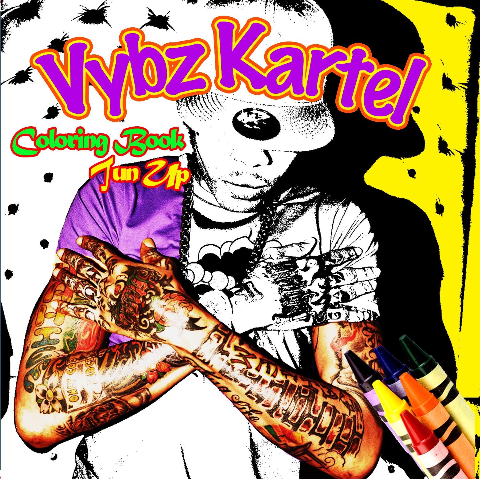 Vybz Kartel Coloring Book Tattoo Time Lyrics Vybz kartel tattoo