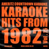 Karaoke Hits from 1982, Vol. 15