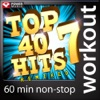 Top 40 Hits Remixed, Vol. 7 (60 Minute Non-Stop Workout Mix (130 to 134 BPM)) ジャケット写真