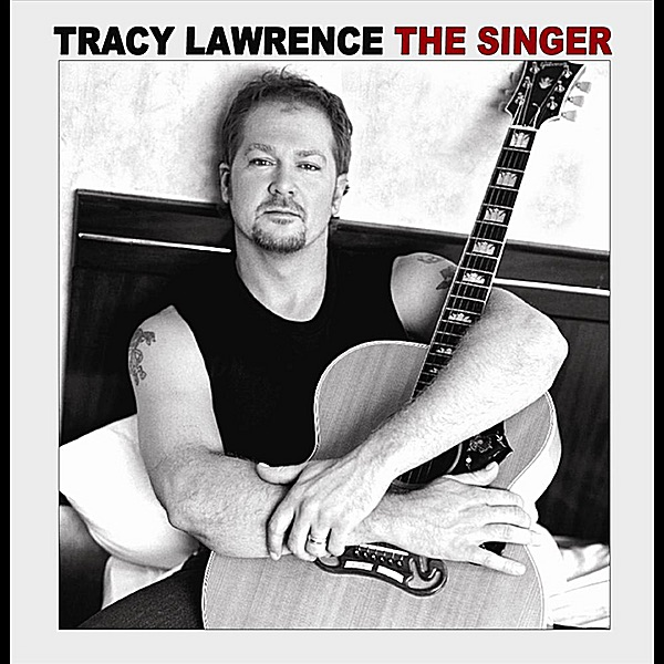 The Singer Tracy Lawrence CD cover