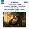 Haydn: Il ritorno di Tobia, Andreas Spering, Capella Augustina, Cologne Vocal Ensemble & Roberta Invernizzi