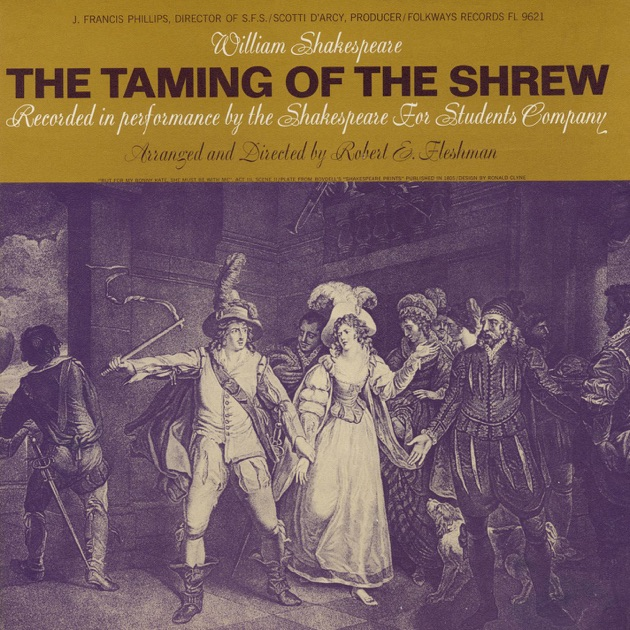 an analysis of the taming of the shrew by william shakespeare Rudolf karel's the taming of the shrew is an unfinished opera upon which he worked between 1942 and 1944 philip greeley clapp's the taming of the shrew (1948) was first performed at the metropolitan opera vittorio giannini's the taming of the shrew (1953) is an opera buffa, with libretto by giannini and dorothy fee.