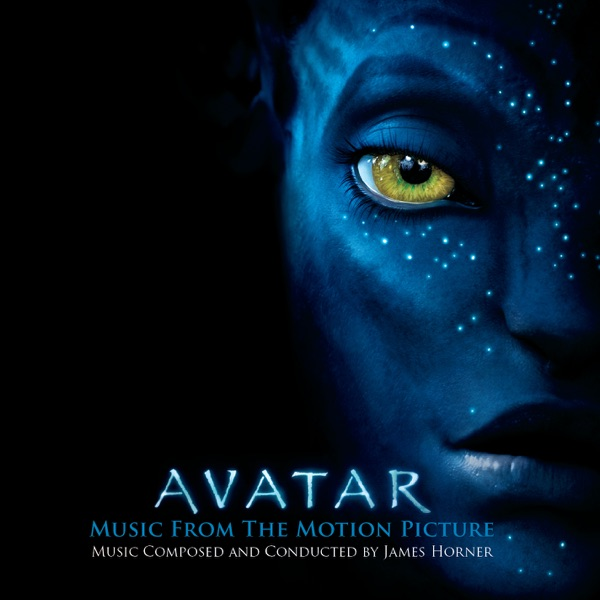 Avatar Music from the Motion Picture James Horner CD cover