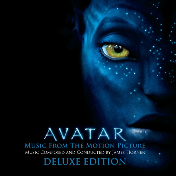 Avatar Music from the Motion Picture Deluxe Edition James Horner CD cover