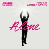 Alone (feat. Lauren Evans) [Radio Edit] - Single cover art
