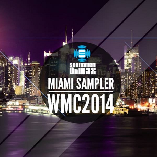 Miami Sampler WMC 2014 Various Artists CD cover