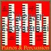 Pianos & Percussion - EP