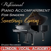 Something's Coming ('West Side Story' Piano Accompaniment) [Professional Karaoke Backing Track]