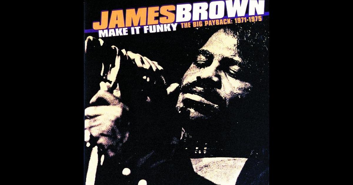 James Brown Escape Ism Hot Pants