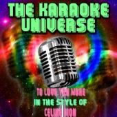 To Love You More (Karaoke Version) [In the Style of Celine Dion]
