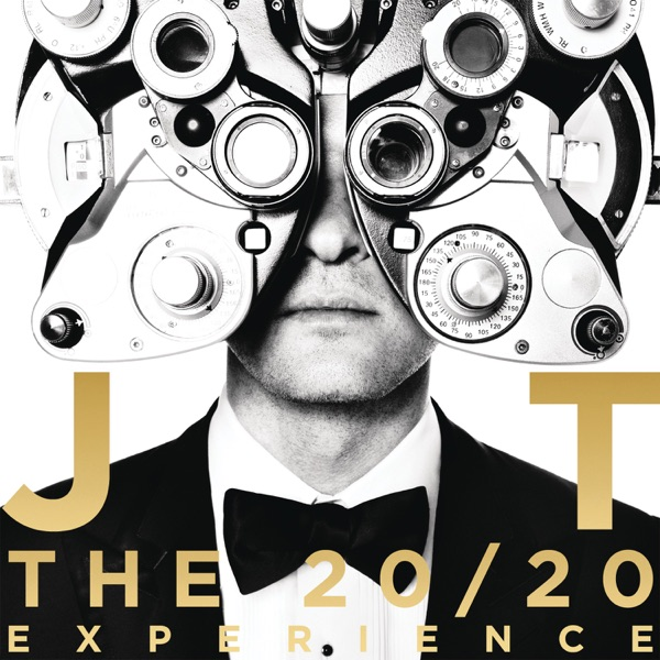 The 2020 Experience Justin Timberlake CD cover