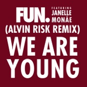 We Are Young (feat. Janelle Monáe) [Alvin Risk Remix] - Single cover art