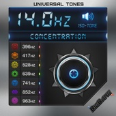 14Hz - Concentration Frequency - Solfeggio Series - Iso Tones