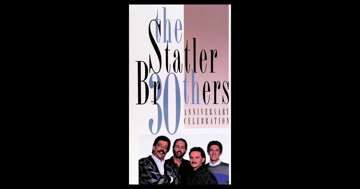The statler brothers th anniversary celebration box