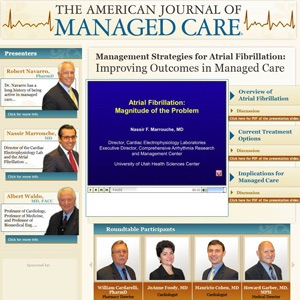 AJMC - Management Strategies for Atrial Fibrillation