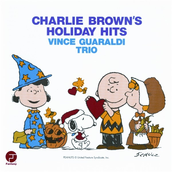 Charlie Brown Holiday Hits Remastered Vince Guaraldi Trio CD cover