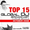 Global DJ Broadcast Top 15 (October 2008)