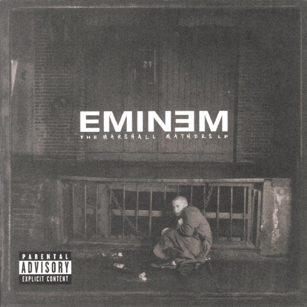 The Marshall Mathers LP Eminem CD cover